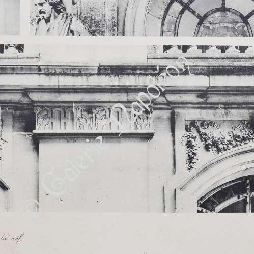 gravures anciennes gravure de ch teau de versailles chapelle dessus de fen tres. Black Bedroom Furniture Sets. Home Design Ideas