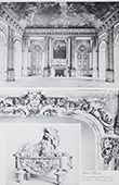 Schloss Versailles - Salon d'Hercule - Cheminée (Vassé)