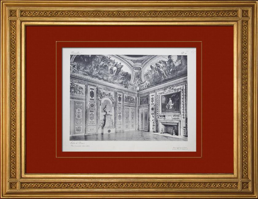 Gravures Anciennes & Dessins | Château de Versailles - Salon de Diane | Héliogravure | 1911