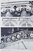 Palacio de Versalles - Le Grand Trianon - Chapiteaux - Rampe