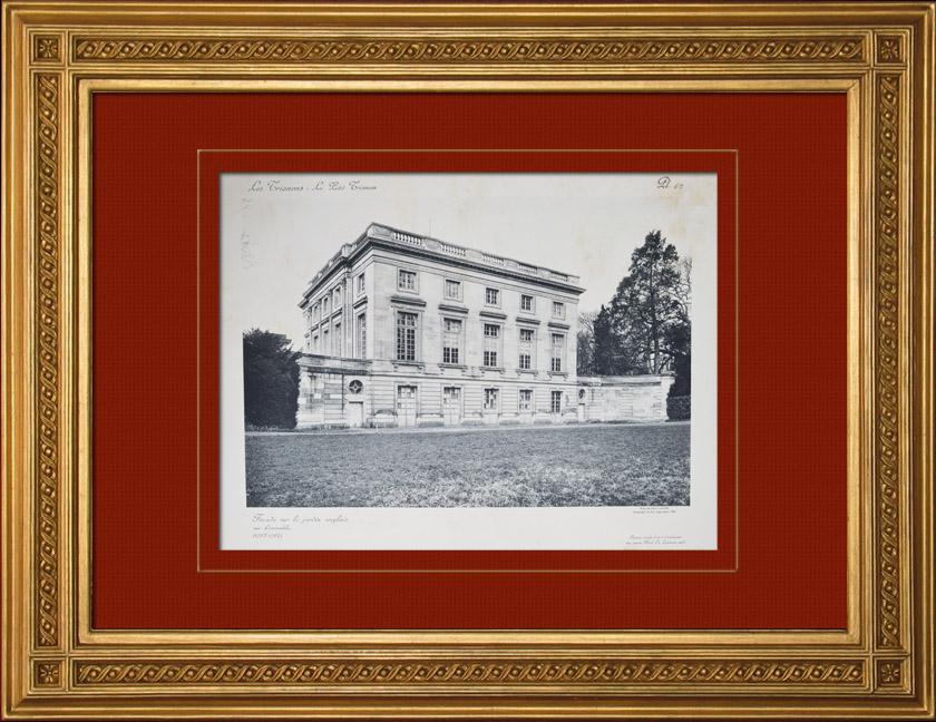 Antique prints prints of palace of versailles for Jardin anglais du petit trianon