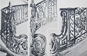Palacio de Versalles - Le Petit Trianon - Grand escalier - Rampe