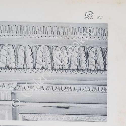Antique prints palace of versailles le petit trianon for Petite salle a manger