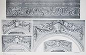 Schloss Versailles - Le Petit Trianon - Salon - Détails