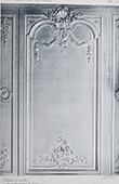 Schloss Versailles - Le Petit Trianon - Chambre à coucher - Détails du lambris