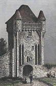 Antique City gate - Porte du Croux - Nevers (Ni�vre - France)