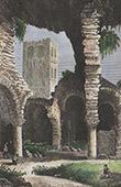 Abbey of Saint-Martin-du-Canigou - Ruins (Pyr�n�es-Orientales - France)