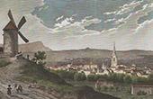 Ansicht von Aix-en-Provence - Provence-Alpes-C�te d�Azur (Bouches-du-Rhone - Frankreich)
