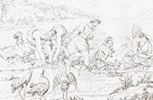 Die wunderbare Fischerei - La Pesca Miracolosa (Raffaello Sanzio oder Raffael)