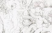 Paradies - Himmel - Adam und Eva - Eva Gibt Adam den Apfel (Raffael - Raffaello Sanzio)