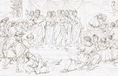 Bible - Old Testament - Saint Paul - Death of Hananiah (Raphael - Raffaello Sanzio)