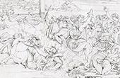 Bible - Old Testament - Crossing the Red Sea (Raphael - Raffaello Sanzio)
