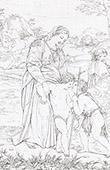 Sant�sima Virgen Mar�a - La Virgen Mar�a, San Jos� de Nazaret, Jes�s y Santo Juan el Bautista (Rafael - Rafael Sanzio)