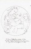 Renacimiento Italiano - Madonna della Seggiola - La Virgen Mar�a, el Ni�o Jes�s, y el Peque�o Santo Juan el Bautista (Raffaello Sanzio o Rafael)
