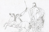 Mitología - Marte sobre su Carro (Rafael - Rafael Sanzio - Raffaello Sanzio)