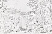 Mitología - Suplicio de Marsias (Rafael - Rafael Sanzio - Raffaello Sanzio)