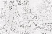 Mitología - Mitología griega - Sileno - Sátiro (Rafael - Rafael Sanzio - Raffaello Sanzio)