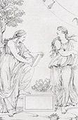 Two Sibyls (Raffaello Sanzio called Raphael)