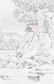 Mitología - Venus en Citera (Rafael - Rafael Sanzio - Raffaello Sanzio)