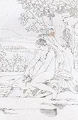 Mitolog�a - Venus en Citera (Rafael - Rafael Sanzio - Raffaello Sanzio)