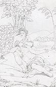 Mitología - Venus y Anquises (Rafael - Rafael Sanzio - Raffaello Sanzio)