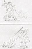 Mythology - Cupid - Conqueror of the Soul - Conqueror of Neptune (Raphael - Raffaello Sanzio)