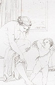 Mythologie - Venus und Amor - Porträt von Raffael (Raffael - Raffaello Sanzio)