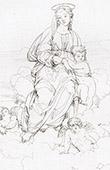 Virgem Maria eo Menino Jesus (Raffaello Sanzio conhecido como Rafael)