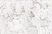 Constantin's Grant to the Roman Church - Torment of Seleucus I Nicator's son (Raffaello Sanzio called Raphael)