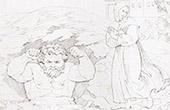 Rückkehr von Giovanni di Cosimo I de' Medici zu Florenz (Raffael - Raffaello Sanzio)