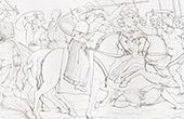 Übergabe von Giovanni di Cosimo I de' Medici - Federico II. Gonzaga - Ravennes (Raffael - Raffaello Sanzio)