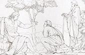 Medici - Italienische Renaissance - Massaker von Prato Bewohner Außer Alten Knabe und Frauen (Raffael - Raffaello Sanzio)