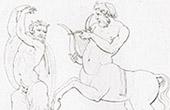 Vatican's Camzos - Slaves - Pan and Chiron (Raphael - Raffaello Sanzio)