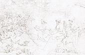 Predication de Jesus Cristo em Bote (Raffaello Sanzio conhecido como Rafael)