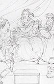 Anjos - Virgem Maria, Memino Jes�s e S�o Jer�nimo (Rafael - Rafael Sanzio - Raffaello Sanzio)