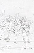 The Angels at Christ's Tomb - Les Anges au Tombeau - Le Christ Mort et les Anges (Rafael - Rafael Sanzio - Raffaello Sanzio)