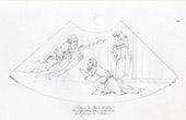 Afresco - A Promessa de Deus a Abra�o (Raffaello Sanzio ou Rafael)