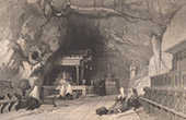 View of Palermo - Cave of Saint Rosalia - Monte Pellegrino - Sicily (Italy)