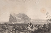 Rock of Gibraltar - Gibraltar - Rock from Queen of Spain's Chair (United Kingdom)