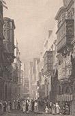View of Malta - La Valletta - St. Ursula's Street - Strada St. Ursola