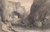Ansicht von Malta - HI. Paulus Kapelle - Mousta - Grotte