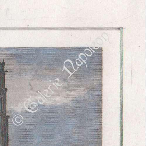 gravures anciennes gravure de glise des jacobins toulouse midi pyr n es haute garonne. Black Bedroom Furniture Sets. Home Design Ideas