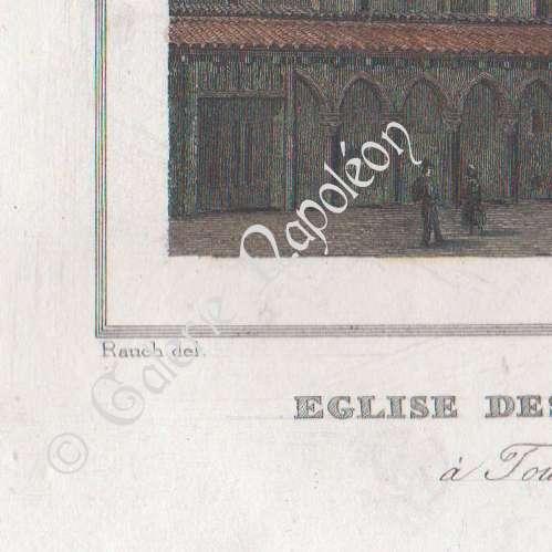 gravures anciennes glise des jacobins toulouse midi pyr n es haute garonne france. Black Bedroom Furniture Sets. Home Design Ideas