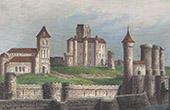 Former Castle of Aubusson - Limousin (Creuse - France)