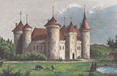 Castle of Coussac-Bonneval - Limousin (Haute-Vienne - France)
