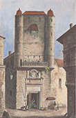 City Hall of Agen - Formerly - Aquitaine (Lot-et-Garonne - France) - Clock