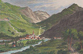 View of Cauterets - Midi-Pyr�n�es (Hautes-Pyr�n�es - France)