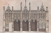 Cathedral of Albi (Tarn - France) - Rood Screen - Jubé