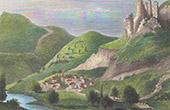Vue de Florac - Languedoc-Roussillon (Loz�re - France) - Parc national des C�vennes