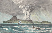 Eruption Volcanique - Perbouwatan - Krakatoa - D�troit de la Sonde (Indon�sie)